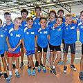 championnats départementaux en salle 2014