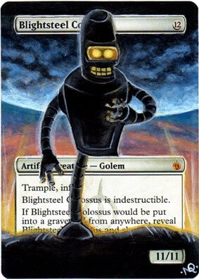 Blightsteel Colossus Altered