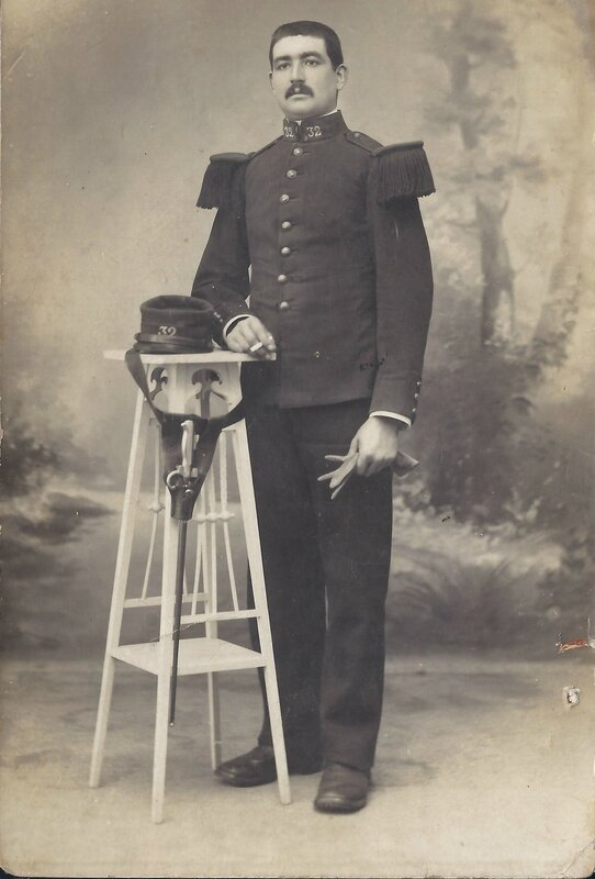Photo Militaire Auguste Lamy
