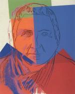 Gertrude Stein - Andy Warhol, 1980