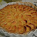 Tarte normande ultra gourmande