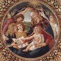 1483-85 : Madone au Magnificat, Sandro Botticcelli (ITALIE) - wi