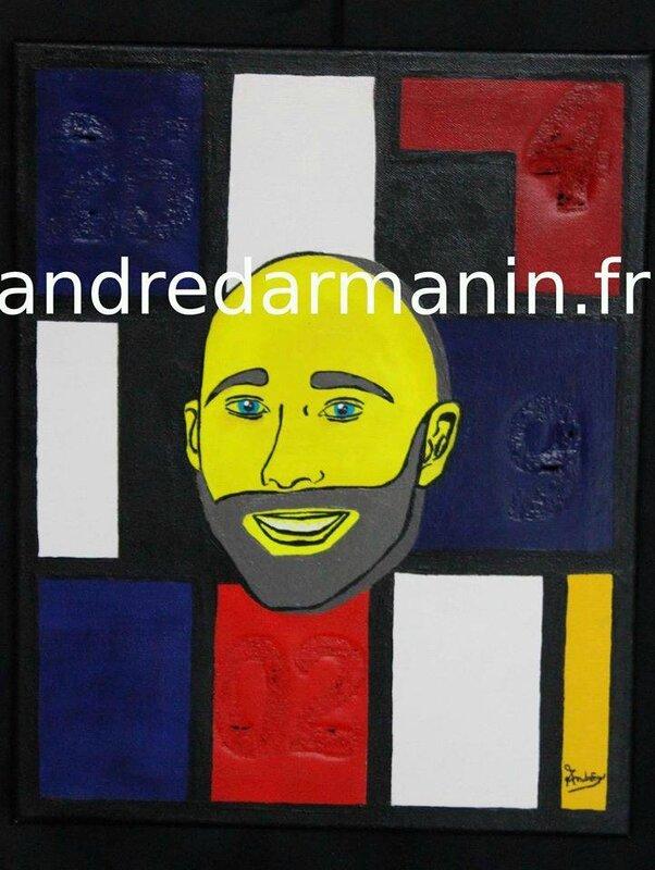 André DARMANIN - Autoportrait