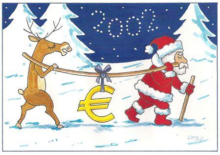 CPM Père-Noël JM Petey 2002