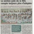 Belle pépinière de judokas...