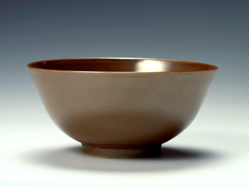 Bowl with brown glaze, Ming dynasty (1368-1644), Reign of the Jiajing emperor (1522-1566)