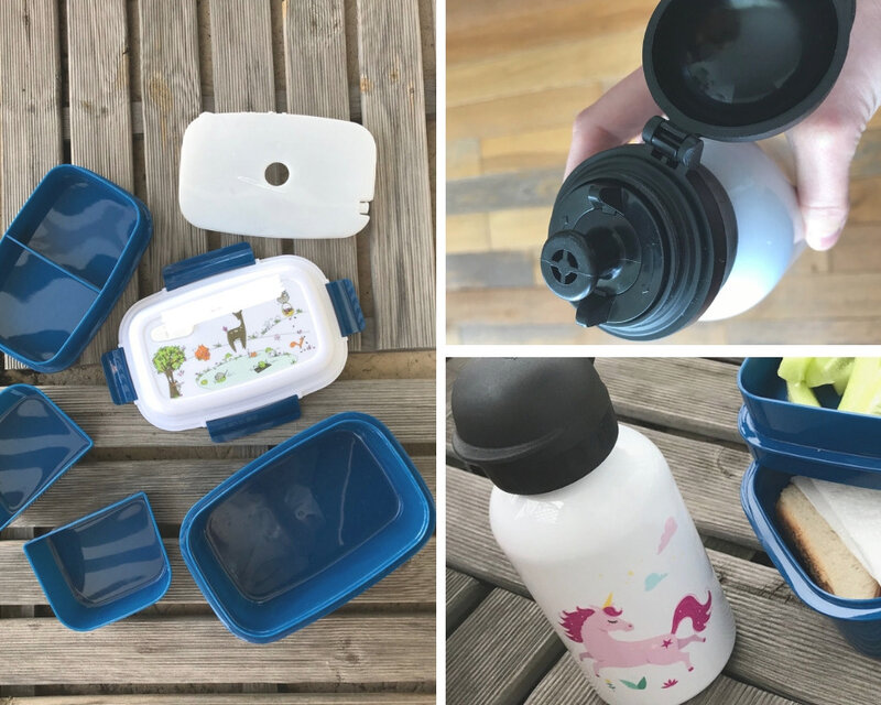 Lunchbox et gourde C-MonEtiquette ©Kid Friendly