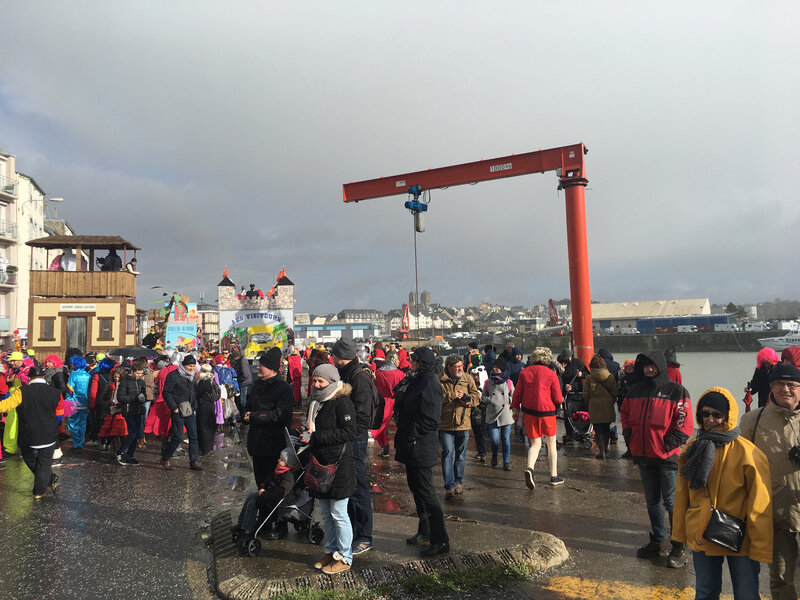 Carnaval Granville Manche 2017 port