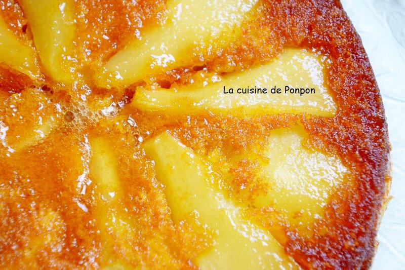 gateau aux poires caramélisées (14)