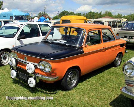 Nsu 1000 TTS de 1971 (Retro Meus Auto Madine 2012) 01