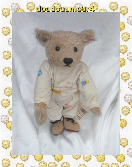 Peluche Ours Bear BMW Steiff Edition 2002