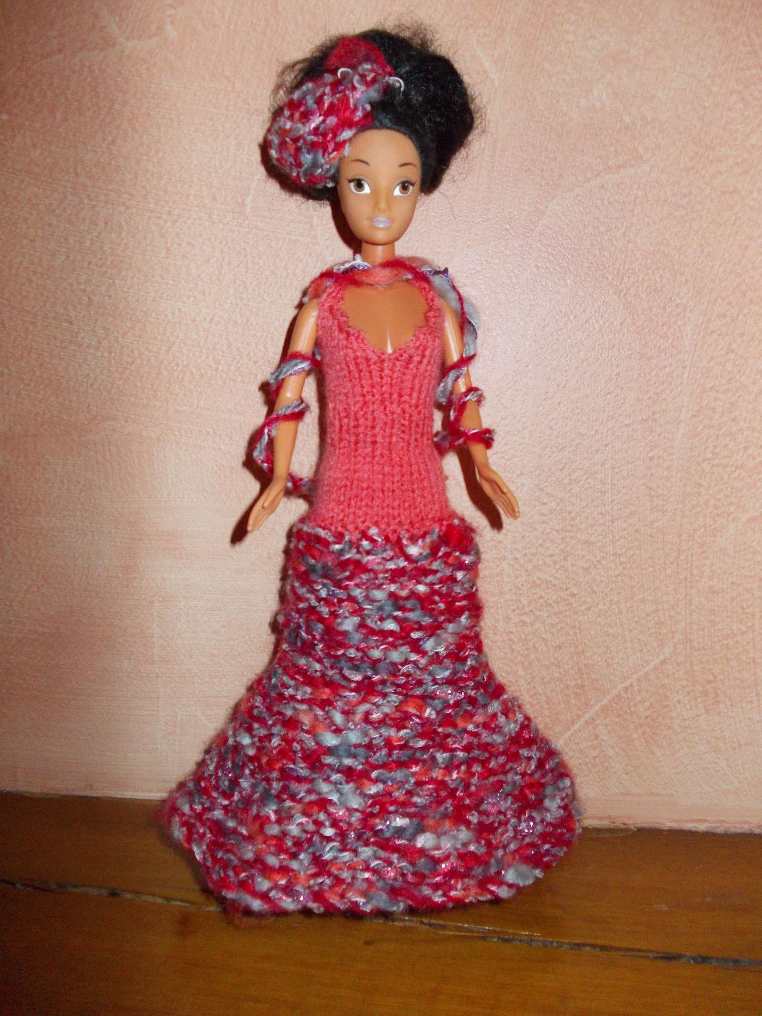 Barbie argentée