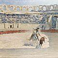 Eugène cartier (arles 1861-1943 ?), la corrida