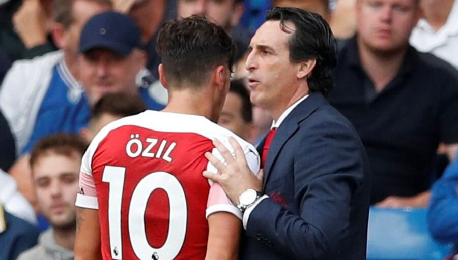 La mise au point Emery sur Mesut Özil !
