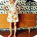 C'est encore l'été avec ma mini robe vintage