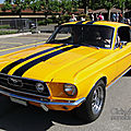 Ford mustang gt fastback coupe-1967