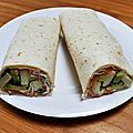 Wraps saumon fumé