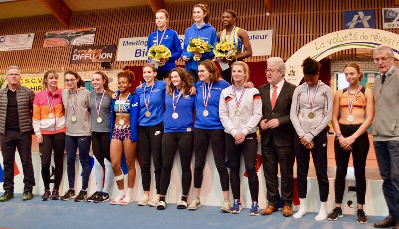CONCOURS INTERRÉGIONAL FÉMININ podium