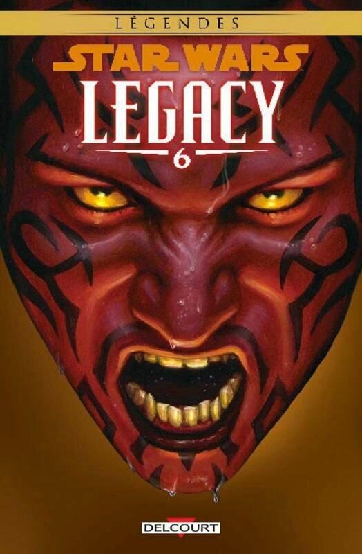 delcourt légendes star wars legacy 06