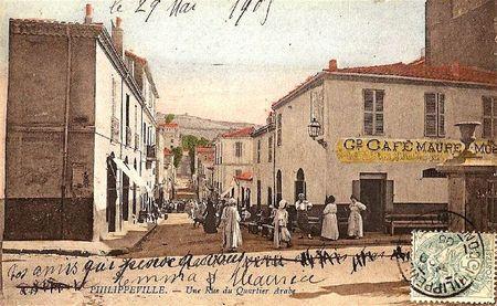 Philippeville quartier arabe