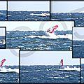 Aerial backside surf !...