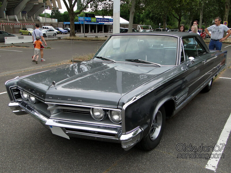 Chrysler 300 hardtop coupe-1966-01