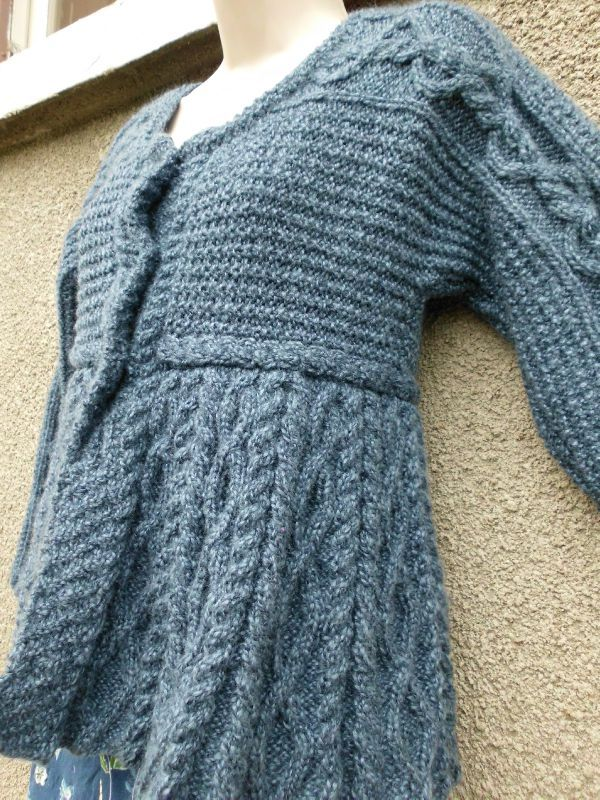 Ma Version Blue De La Silver Belle De Vogue Knitting