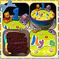 Gâteau Winnie & Bouriquet