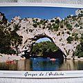 Pont d'Arc - créusée par les eaux
