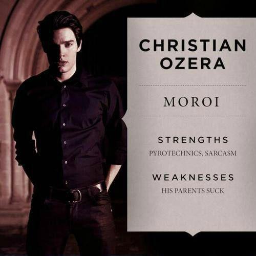 Portrait Christian Ozera Vampire Academy