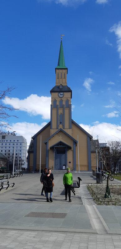 Tromsø domkirke (Cathédrale de Tromsø)