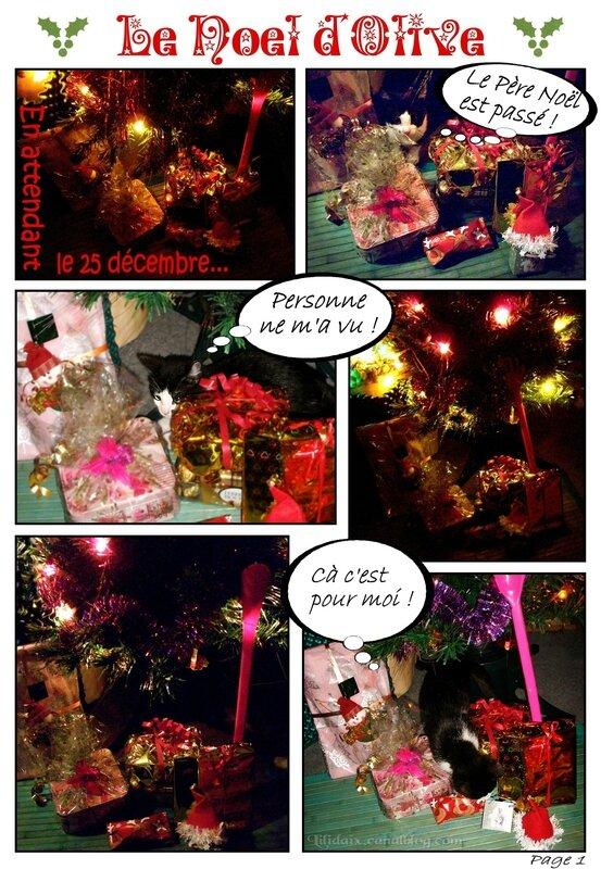 Le Noël d'Olive