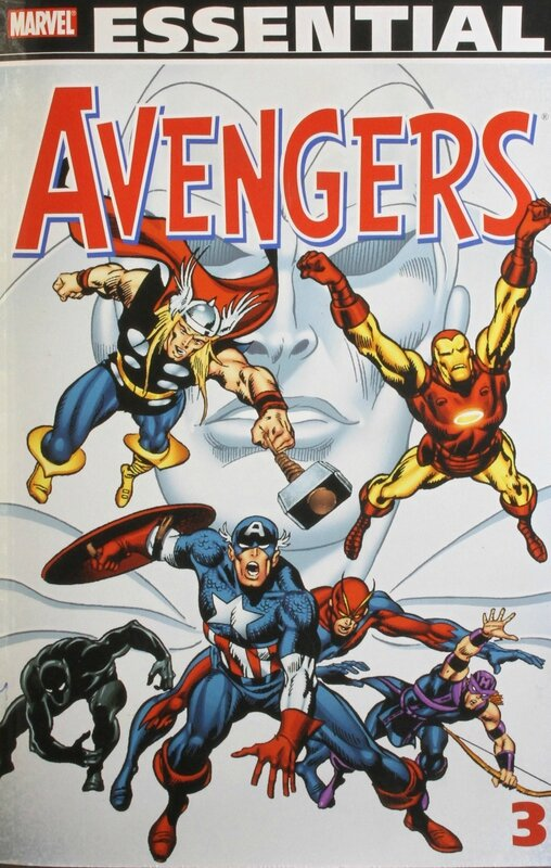 essential avengers vol 3 TP