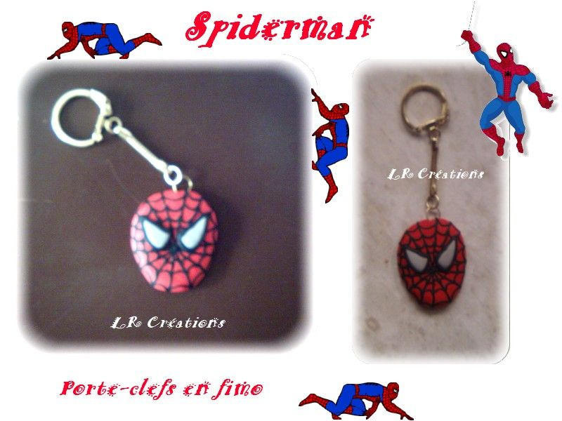 porete-clef spiderman