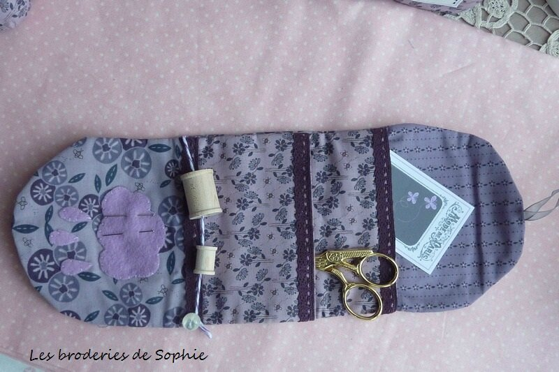 Trousse à couture Pois de senteur (8)
