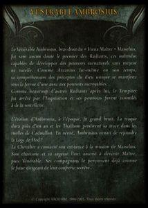 Carte - venerable amborisus(background)