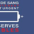 Appel estival au don du sang - collectes à avranches et ducey, jeudi 9 et vendredi 10 août 2018
