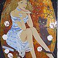 Alice, 40x65, 2012