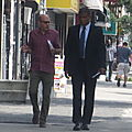 White Collar film set, July 13th