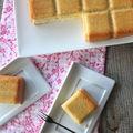 Gâteau ultra léger aux amandes et fève tonka