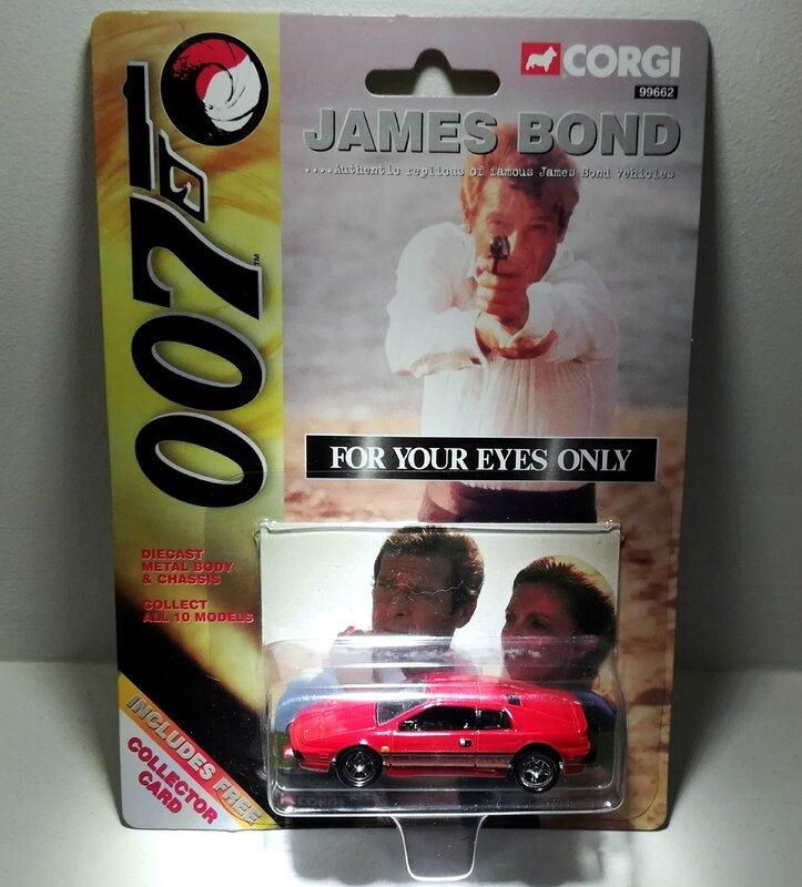 Lotus Esprit S1 (Collection James Bond) Corgi 01