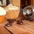 Cupcakes au café.