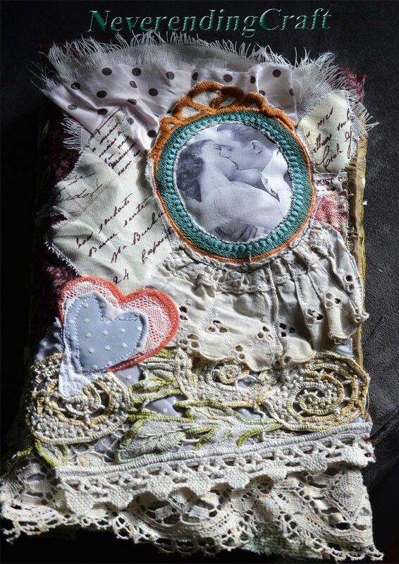 Carnet romantique NeverendingCraft 2