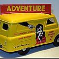 Bedford Van 1-43 Corgi Adventure A-2