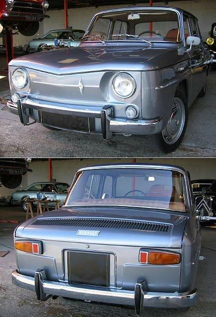 RENAULT - R 8 Berline - 1963