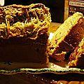 Cake à la moutarde et au jambon