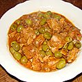 Saute de veau aux olives