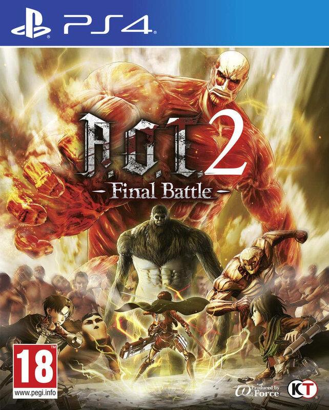 AOT2 Final PS4