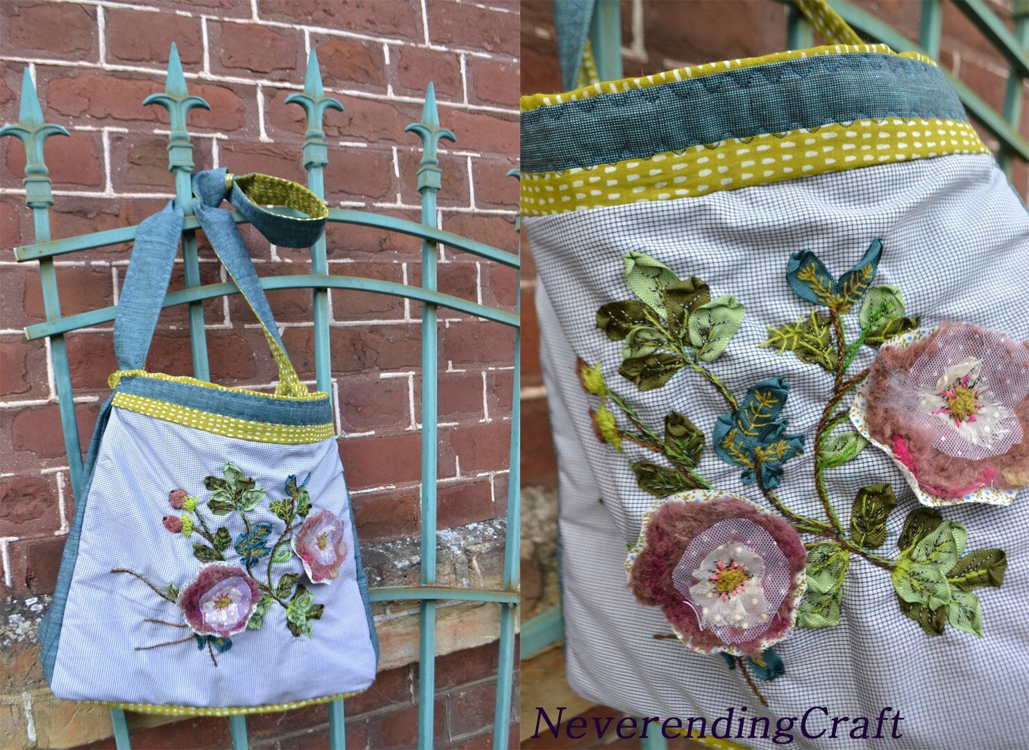 Sac_Roses_laine_NeverendingCraft1
