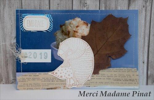 Carte de voeux de Madame Pinat - Février 2019